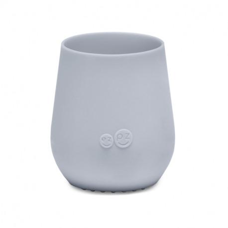 Vaso de Aprendizaje EZPZ Tiny Cup gris claro