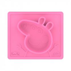 Plato para Niños EZPZ Peppa Pig Mat