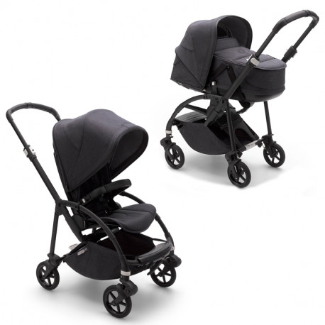 Bugaboo Bee 6 Mineral Collection negro lavado