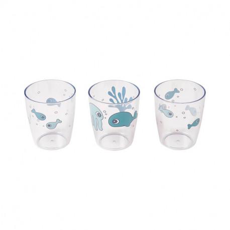 Vasos para Bebé Done By Deer Yummy Mini azul