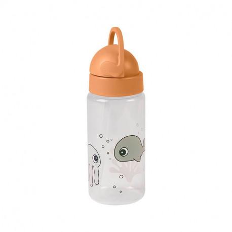Botella para Bebé Done By Deer Sea Friends mostaza