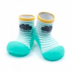 Calzado para Bebé Attipas Peekaboo mint
