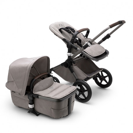 Bugaboo Fox 3 Mineral Collection gris claro melange