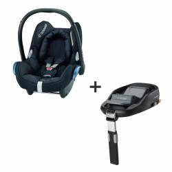 Base Family Fix + CabrioFix Negro de BEBE CONFORT