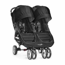 Silla de paseo City Mini Gemelar Negro/Gris de Baby Jogger