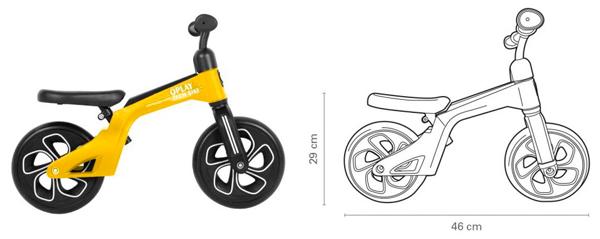 bicicleta qplay tech