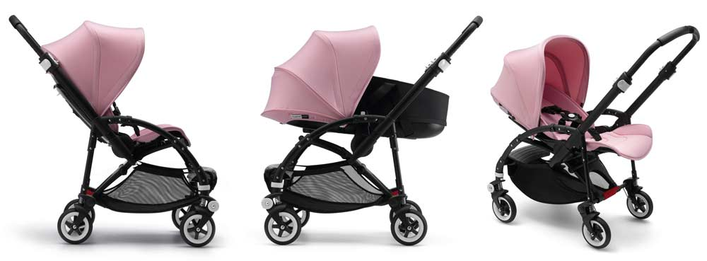 bugaboo bee 3 modern pastel rosa