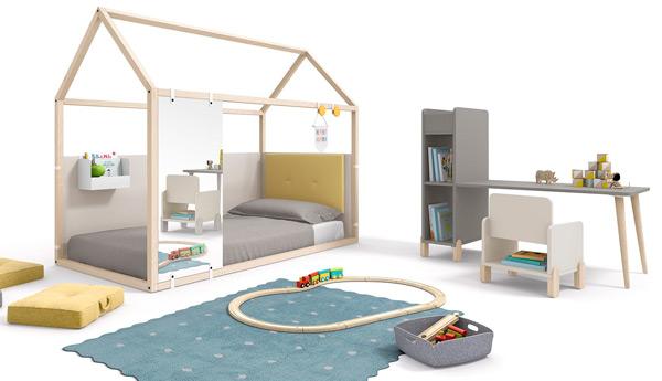 cama casita montessori ros 05