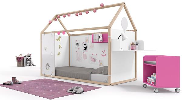 cama casita montessori ros 07