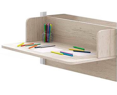 cama nido montessori 01 escritorio lateral