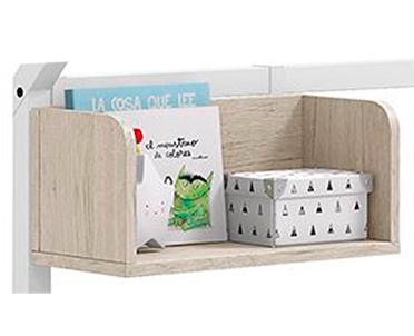 cama nido montessori 01 estanteria