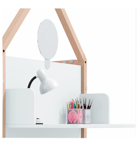 cama nido montessori ros 07 escritorio y espejo