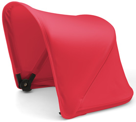 capota bugaboo fox rojo neon