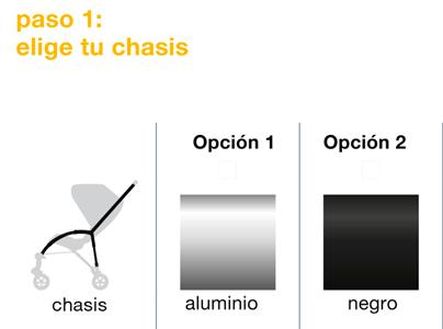 chasis bugaboo bee 5