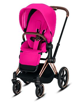 cybex e priam fancy pink