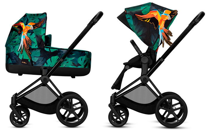 cybex priam birds of paradise