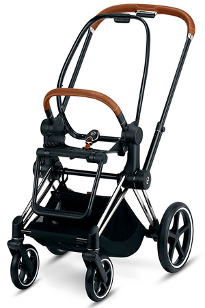 cybex priam chasis chrome marron