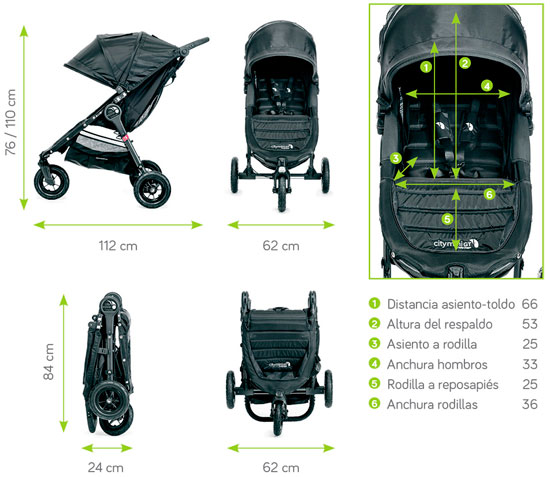 dimensiones city mini gt