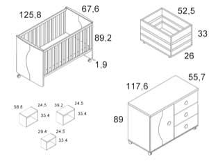 dimensiones habitacion camaleon