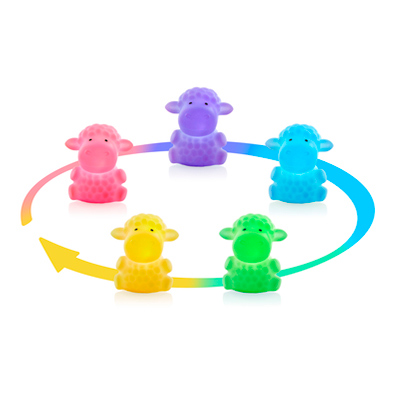 luz compania bebe miniland night sheep