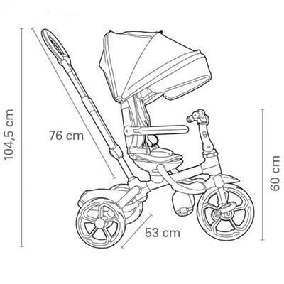 qplay prime triciclo bebe