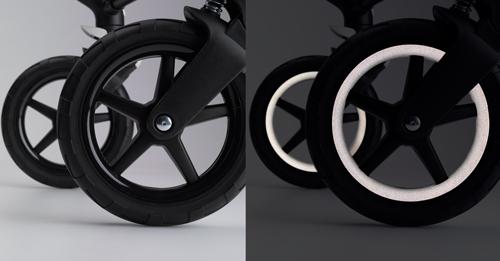 ruedas reflectantes bugaboo fox stellar