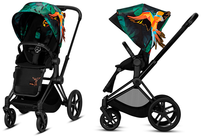 silla paseo cybex priam birds of paradise
