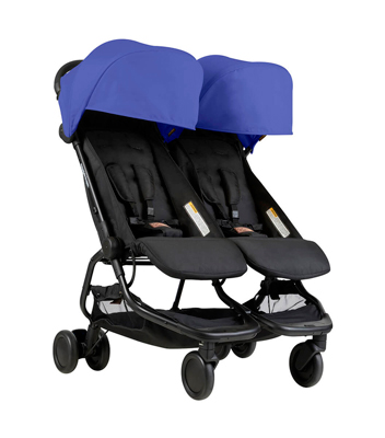 silla paseo gemelar mountain buggy nano duo