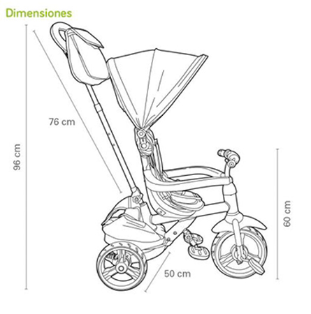 triciclo california qplay