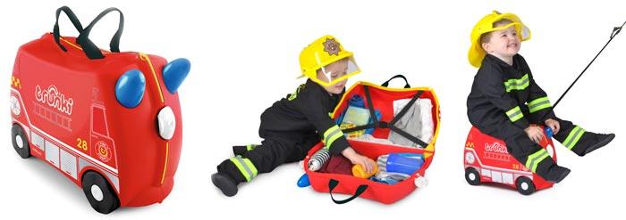 trunki frank camion de bomberos