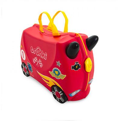 trunki maleta coche carreras