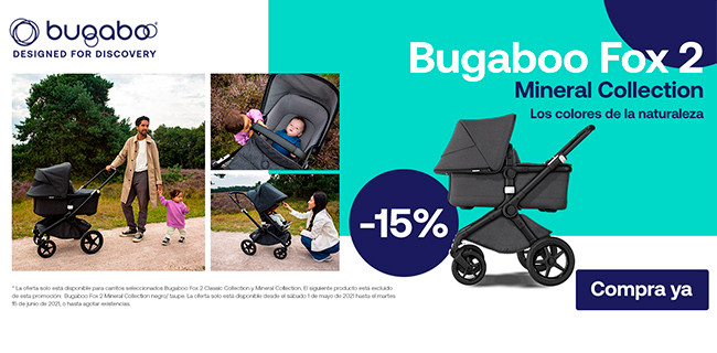Bugaboo Fox 2 Mineral Collection